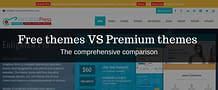 Free themes VS Premium themes