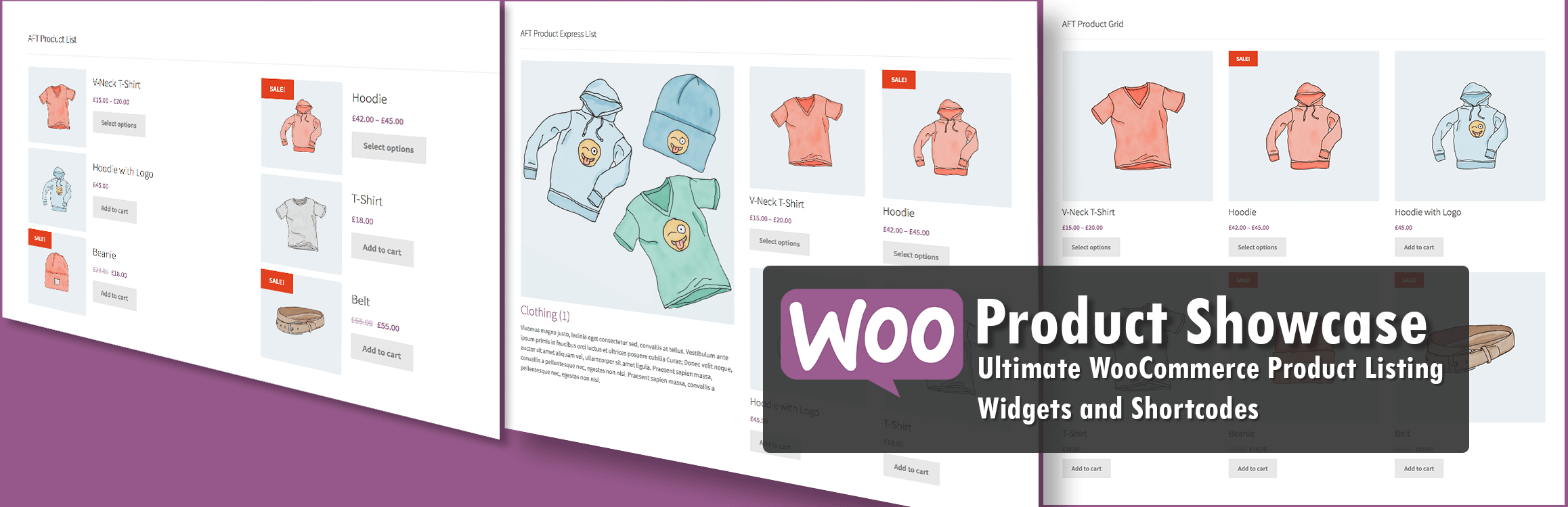 Woo Product Showcase - 5+ Best Free WordPress Product Showcase Plugins