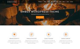 Ember Theme - Powerful Parallax WordPress Theme