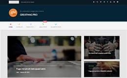 GreatMag Pro - Beautiful WordPress Blog Theme