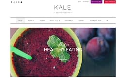 Kale – Free Elegant WordPress Theme