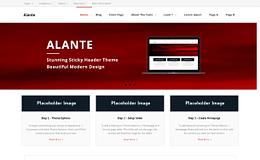 Alante Free Multipurpose WordPress Theme