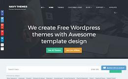 Navy Themes - Best WordPress Theme Store