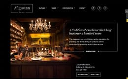 Augustan - Premium Restaurant WordPress Theme
