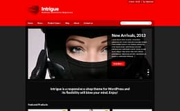 Intrigue - Premium WordPress Store Theme