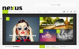 Nexus -Versatile Magazine WordPress Theme