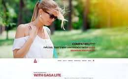 gaga-lite-WordPress-theme