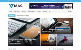 Vmag - Best Free Adsense WordPress Themes