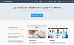 Theme Junkie - Best WordPress Theme Store
