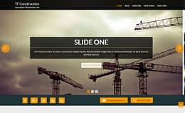 TF Construction - Free Construction WordPress Theme