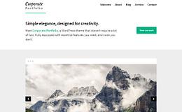 Corporate Portfolio - Free Multipurpose WordPress Theme