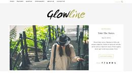 Glowline - Premium WordPress Blog Theme