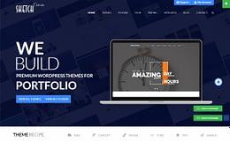 Sketch Theme - WordPress Theme Store