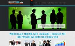 Business Line - Professional Business WordPress Theme