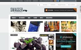 SwagMag - Premium Magazine WordPress Theme