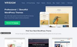 WPZoom - Best WordPress Themes Store