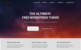 Bento - Free Powerful WordPress Theme