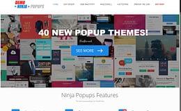 Ninja Popups - Powerful Popup Plugin