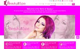 Beauty and Spa - Free One Page WordPress Theme