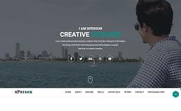 xPerson - Personal Portfolio WordPress Theme