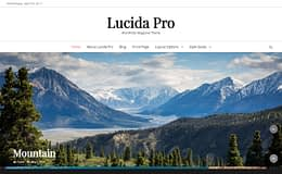 Lucida Pro - Responsive Magazine WordPress Theme