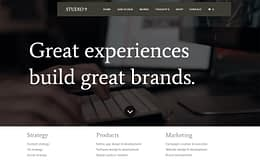 Studio 9 - Premium Business WordPress Theme