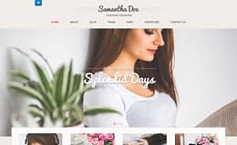 Girlie Lite - Free Girly WordPress Theme