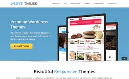 Webriti Themes - WordPress Theme Store