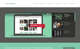 TheMotion - Video WordPress Blog Theme