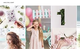 WhiteLight - Professional Photographer Portfolio WordPress Theme