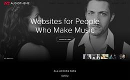 Audio Theme - Excellent WordPress Theme Store