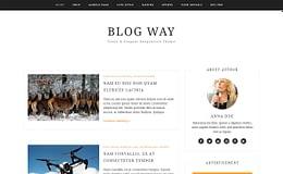 Blog Way - Free WordPress Blogging Theme