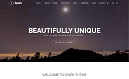 Spark - Multipurpose OnePage WordPress Theme