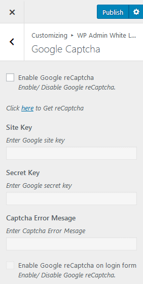 google captcha - How to Add a Custom Login Page on WordPress Website? (Step by Step Guide)