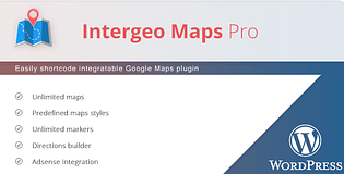 Intregeo Map Pro - Premium WordPress Google Maps Plugin