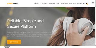 Azera Shop - Free WordPress Ecommerce Theme