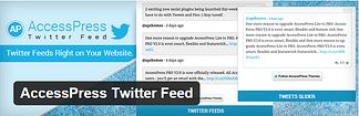 AccessPress Twitter Feed