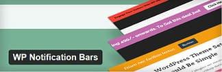 WP Notification Bars - Free Notification WordPress Plugin