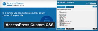 AccessPress Custom CSS