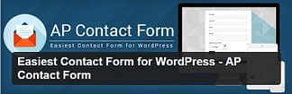 AP Contact Form - Free WordPress Plugin