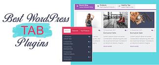 WordPress Tab Plugins