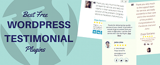 Top Best Free WordPress Testimonial Plugins