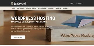 SiteGround - Reliable WordPress Hosting
