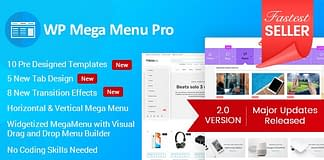 WP Mega Menu Pro - WordPress Mega Menu Plugin
