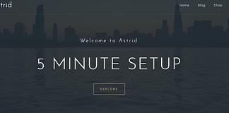 Astrid - Premium Business WordPress Theme