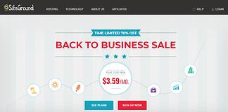 SiteGround WordPress Hosting Service