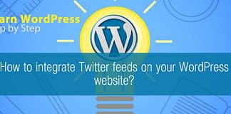 How to integrate Twitter feeds on your WordPress website