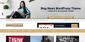 Mag News - WordPress Magazine Theme