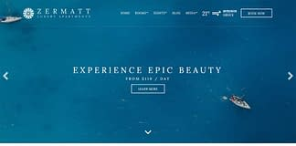 Zermatt - Next Generation Hotel WordPress Theme