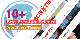Best Premium Science WordPress Themes